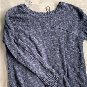 Thin blue Sweater